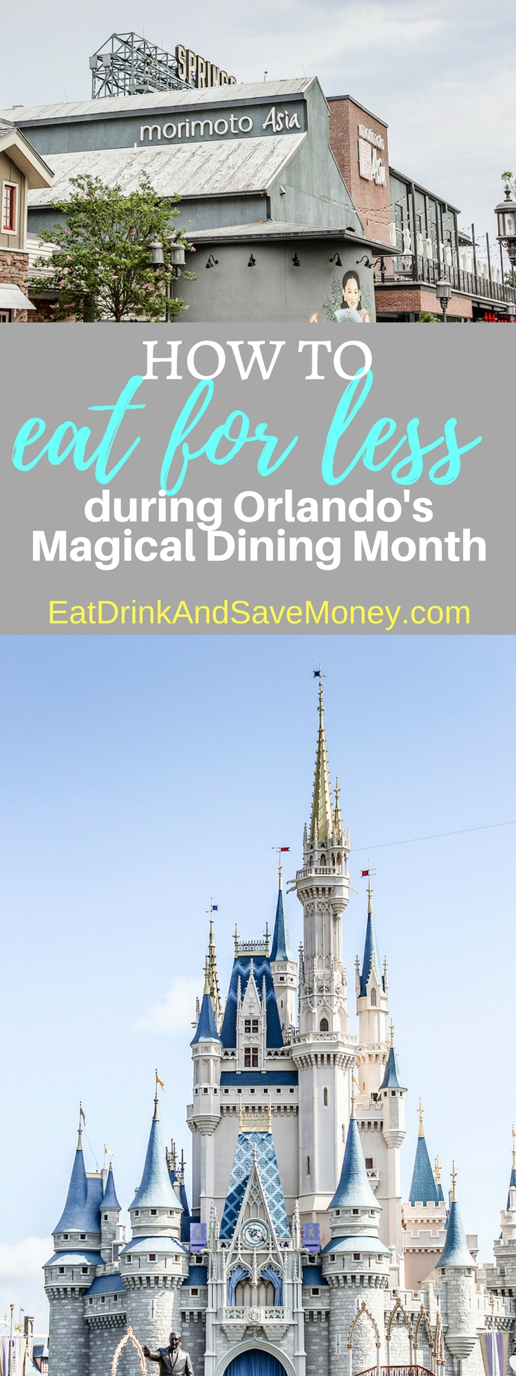 How to eat for less during Orlando's Magical Dining Month. Save money dining in Disney and save money dining in Orlando with these tips.