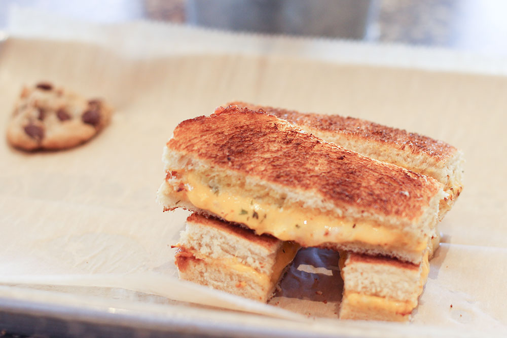 Kids Grilled Cheese from I heart mac and cheese