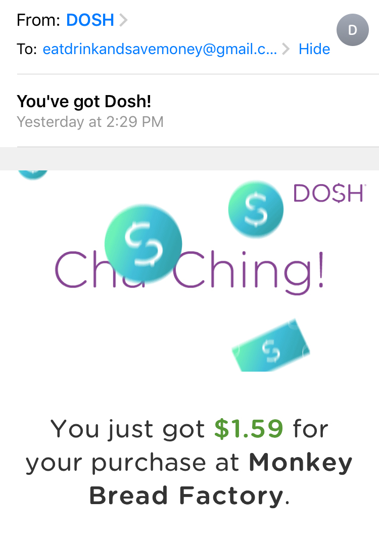 making money with dosh
