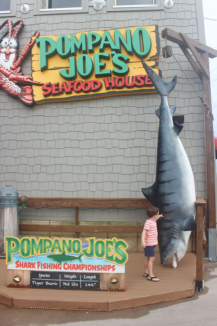 Pompano Joe's in Panama City Beach
