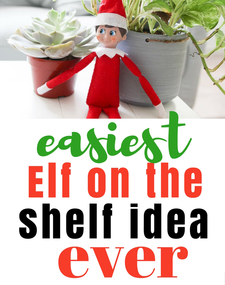 Easy Elf on the Shelf Idea | Eat, Drink, and Save Money