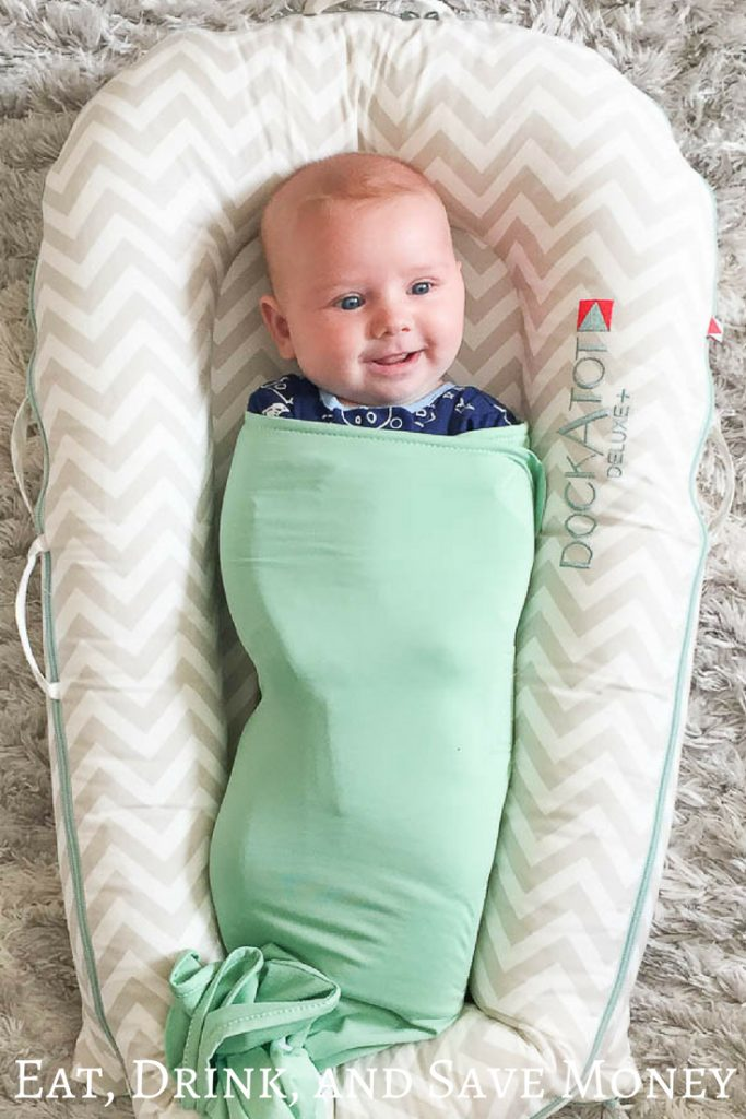 Save $10 on a Dockatot (Dock a tot). It's the best baby item you'll ever buy! #baby #babyproducts #deal #savemoney