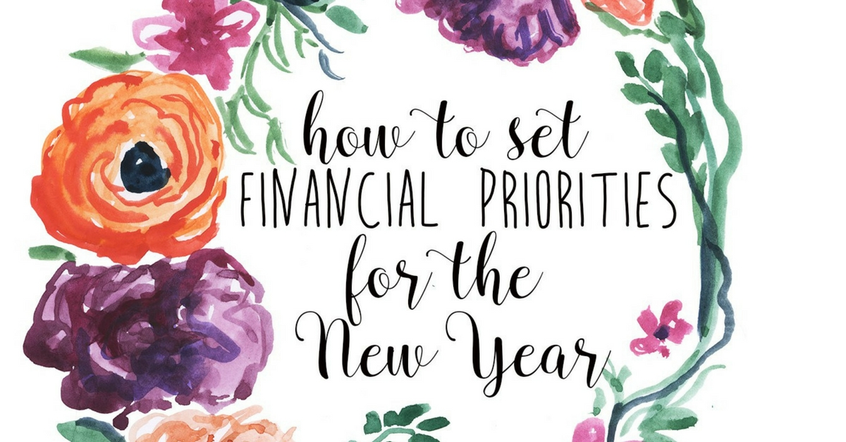 Learn how to set financial goals for the new year