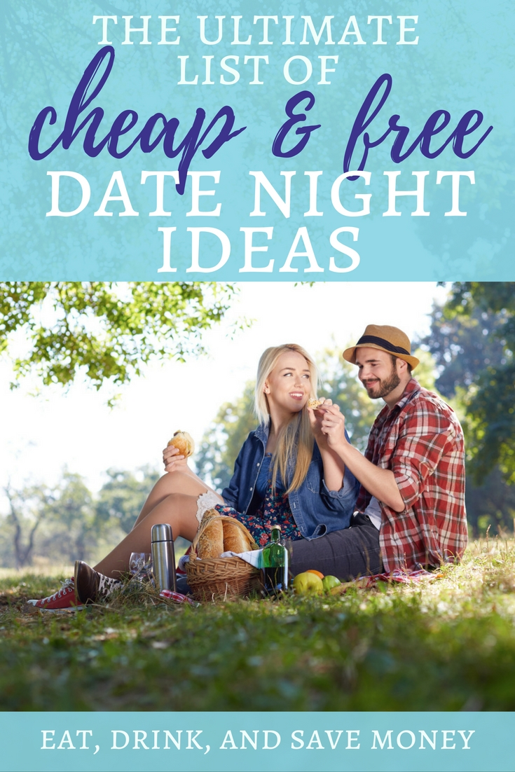 The ultimate list of cheap and free date night ideas. Get tons of ideas for date night or Valentine's Day. #datenight #valentinesday #wife #relationships