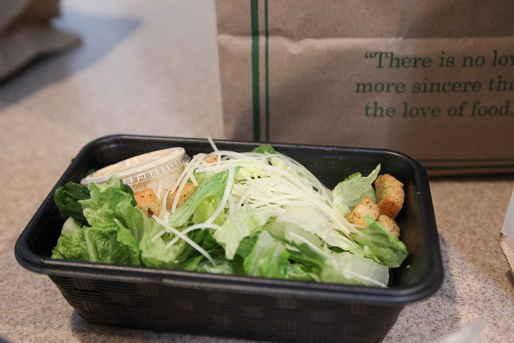 Salad from Carrabba's delivery menu