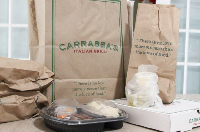 Carrabba's take out