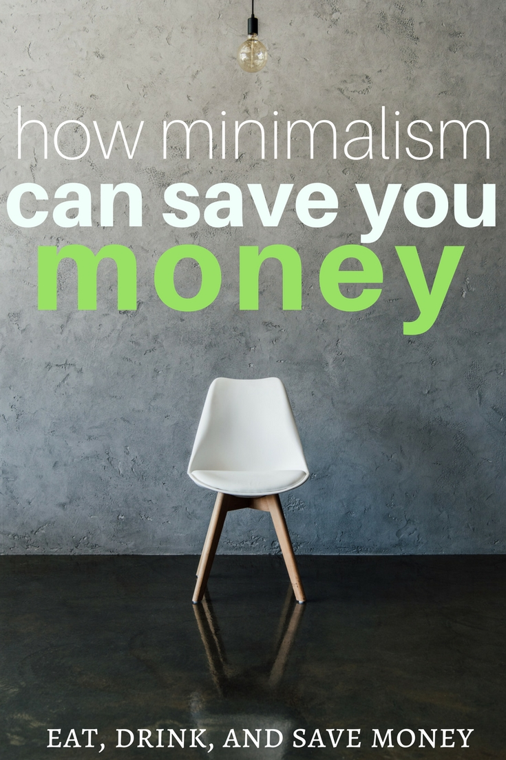 How minimalism can save you money
