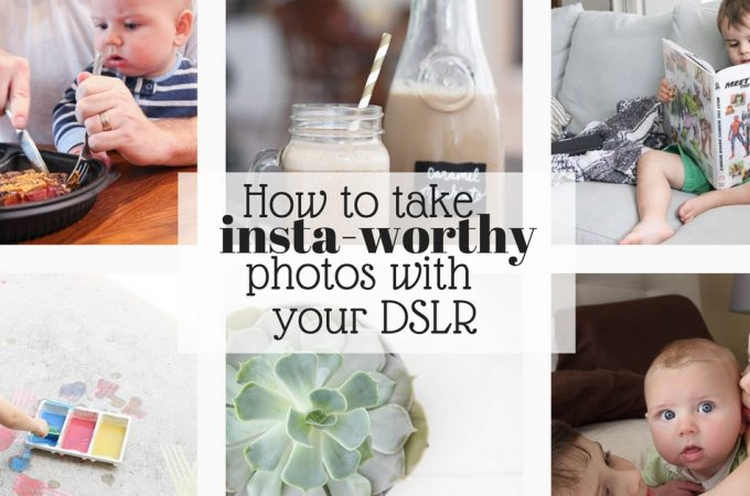 How to take insta-worthy photos with your DSLR