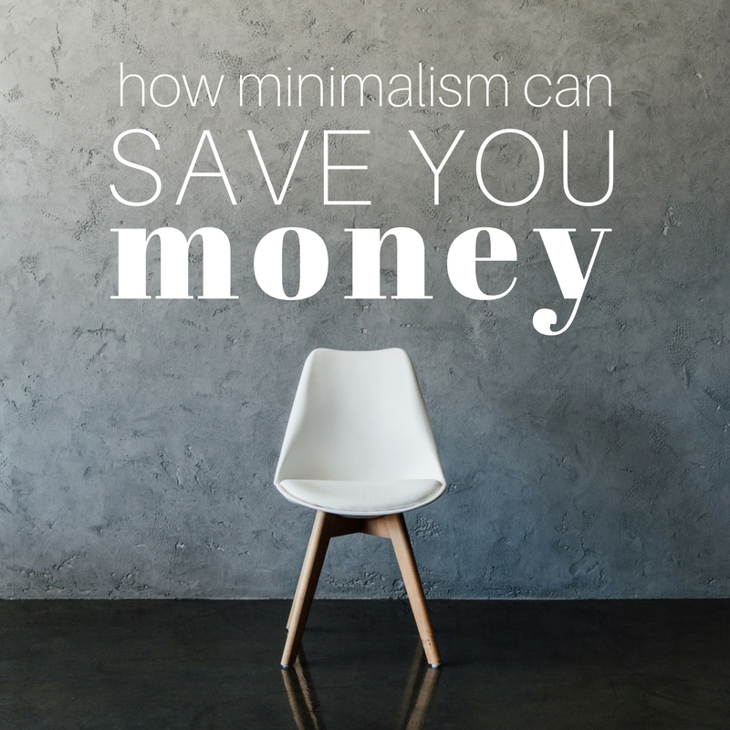 Square how minimalism can save you money