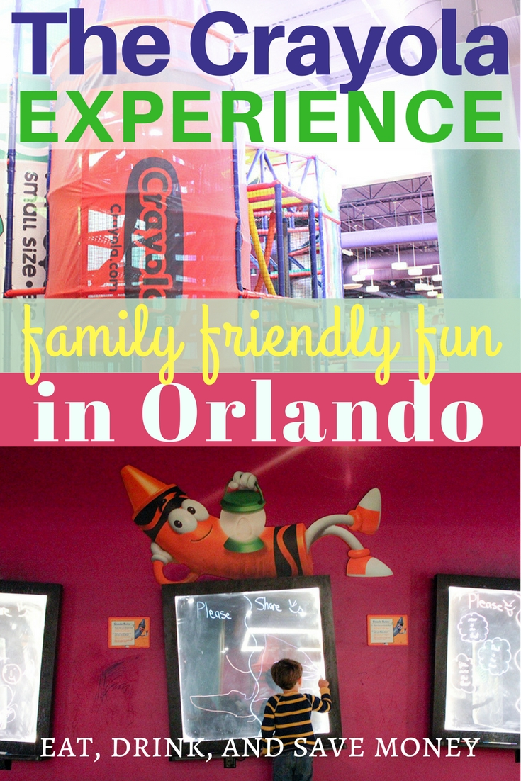 You can check out all sorts of fun stuff at The Crayola Experience in Orlando Florida. It's full of family fun at affordable prices. #familytrave #orlando #visitorlando #loveFL #crayolaexperience