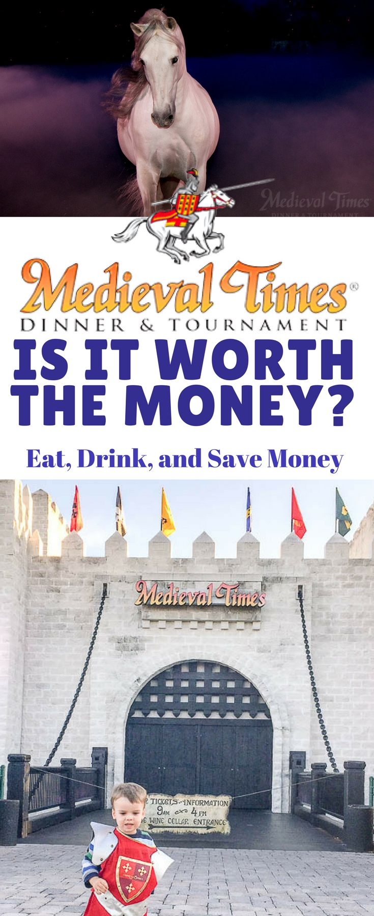 Is Medieval Times dinner and tournament worth the Money? Read these tips and tricks to find out how to get the best deals and if it's worth the money for your next family vacation.