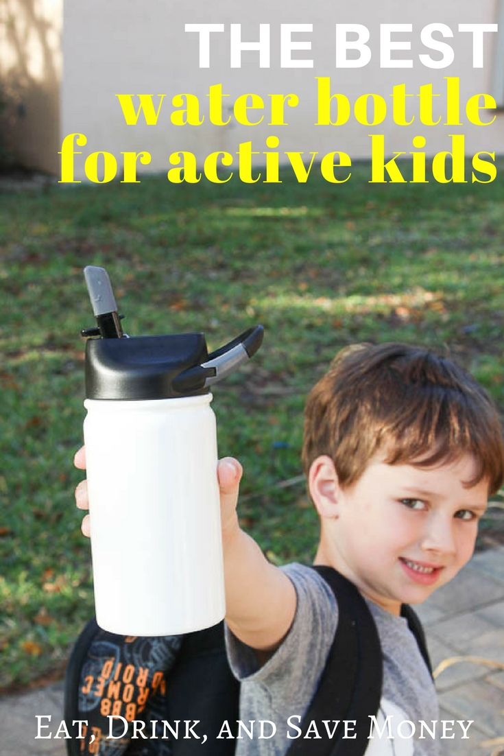The best water bottle for active kids- Lil SIC stainless steel water bottle