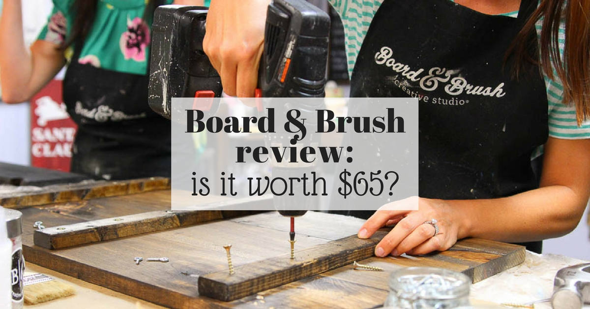 board and brush review