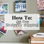 how to get free Shutterfly shipping