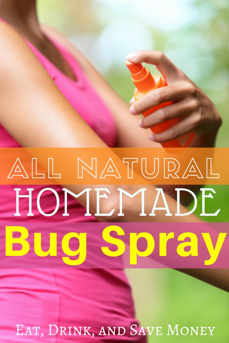 All natural homemade bug spray. How to make your own bug spray with essential oils. #summer #bugspray #chemicalfree