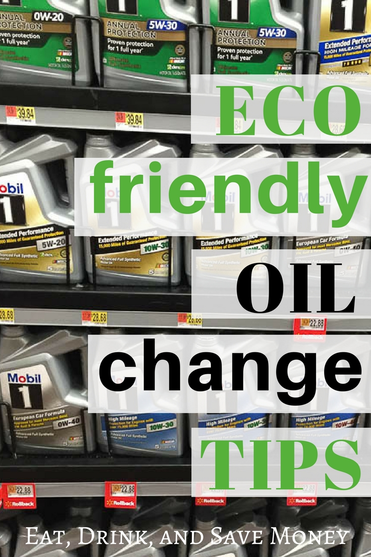 Eco friendly oil change tips. #cartips #car #ecofriendly #EarthDayDriveAway #CollectiveBias #ad