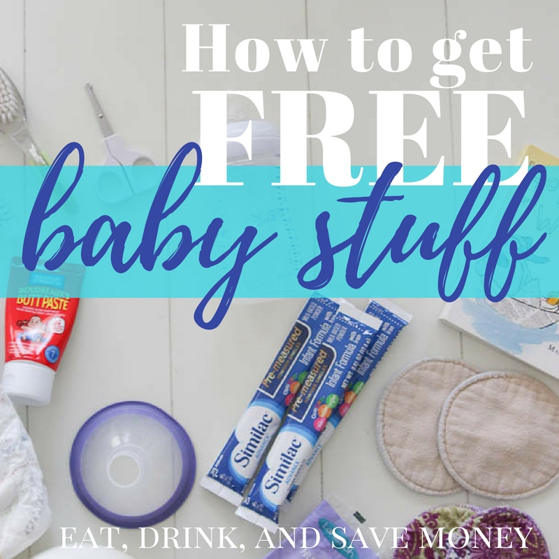 How to get free baby stuff in the mail. #freebies #freebie #baby #pregnancy #mom