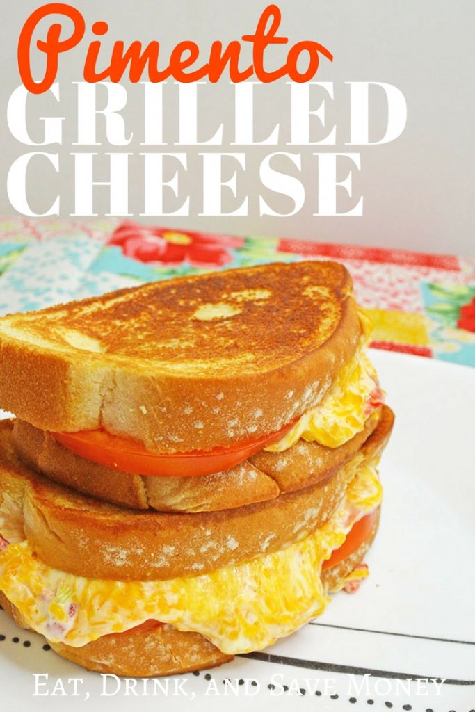 Pimento grilled cheese recipe. Grilled pimento cheese.