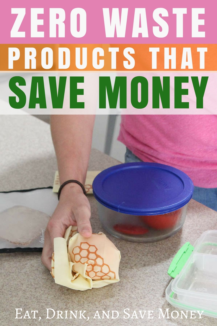 Zero waste products that save money. #zerowaste #ecofriendly #eco #environmentallyfriendly #earthfriendly #earthday #savemoney