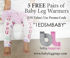 free baby products 5 free baby leg warmers