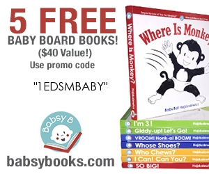 free baby products free board books