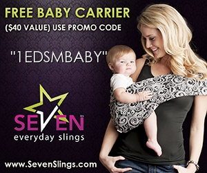 free baby sling with coupon code