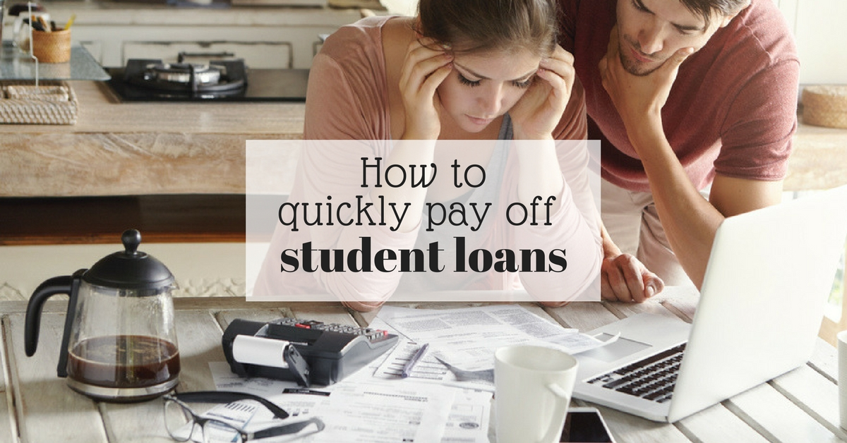 how to get a student loan fast