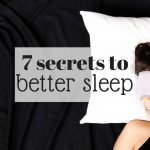 7 secrets to better sleep fb