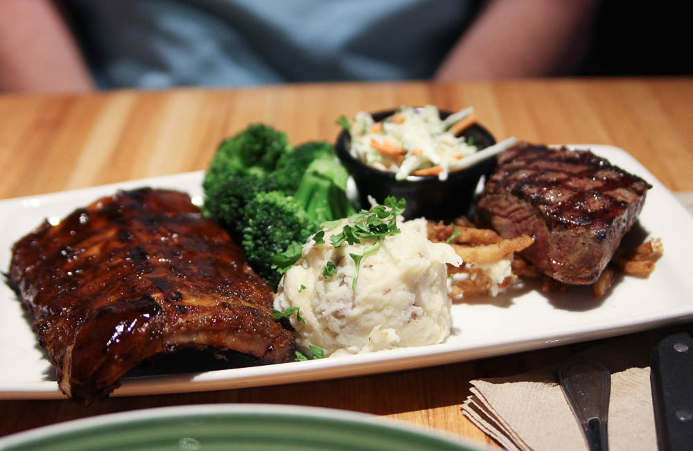 Applebees review new bigger bolder combos
