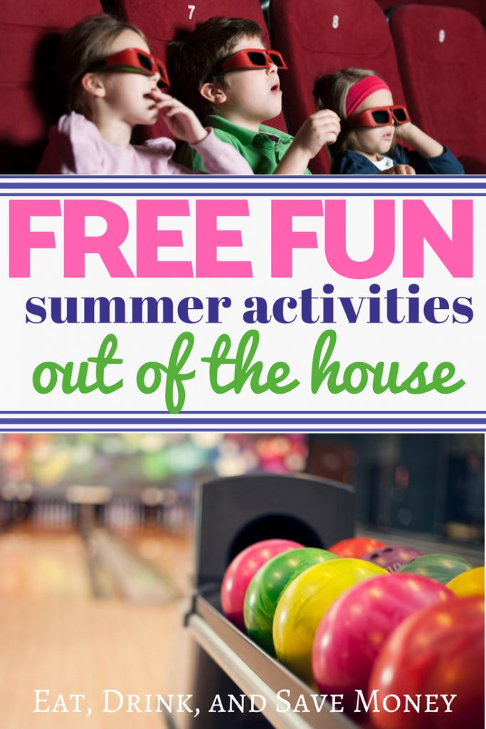 Free summer activities out of the house. #summer #summerfun #funforkids