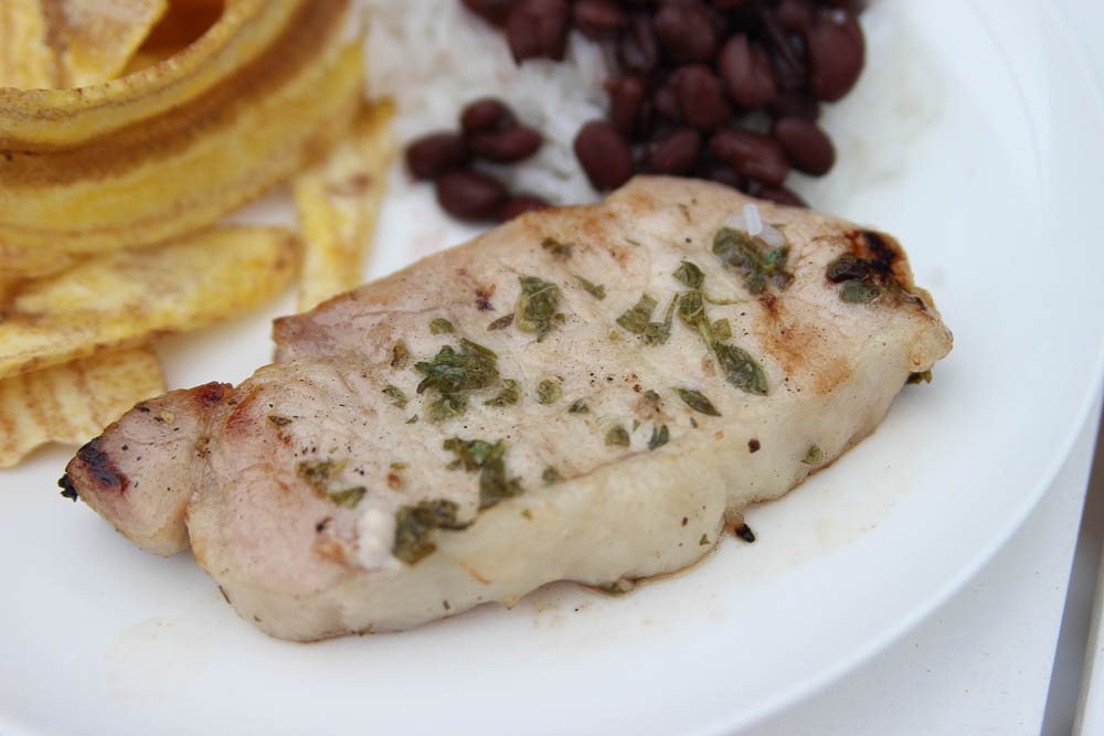 Mojo marinated pork chops recipe