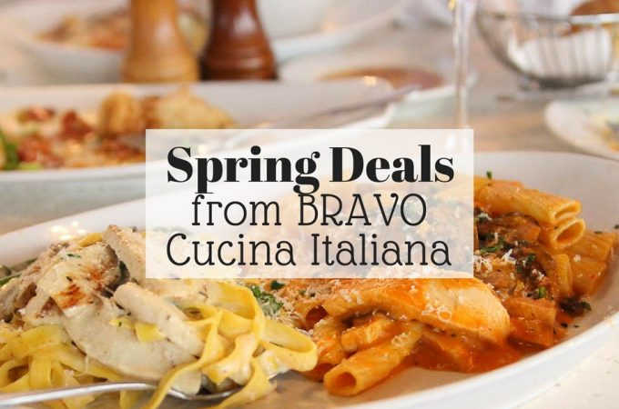 Spring Deals at BRAVO Cucina Italiana