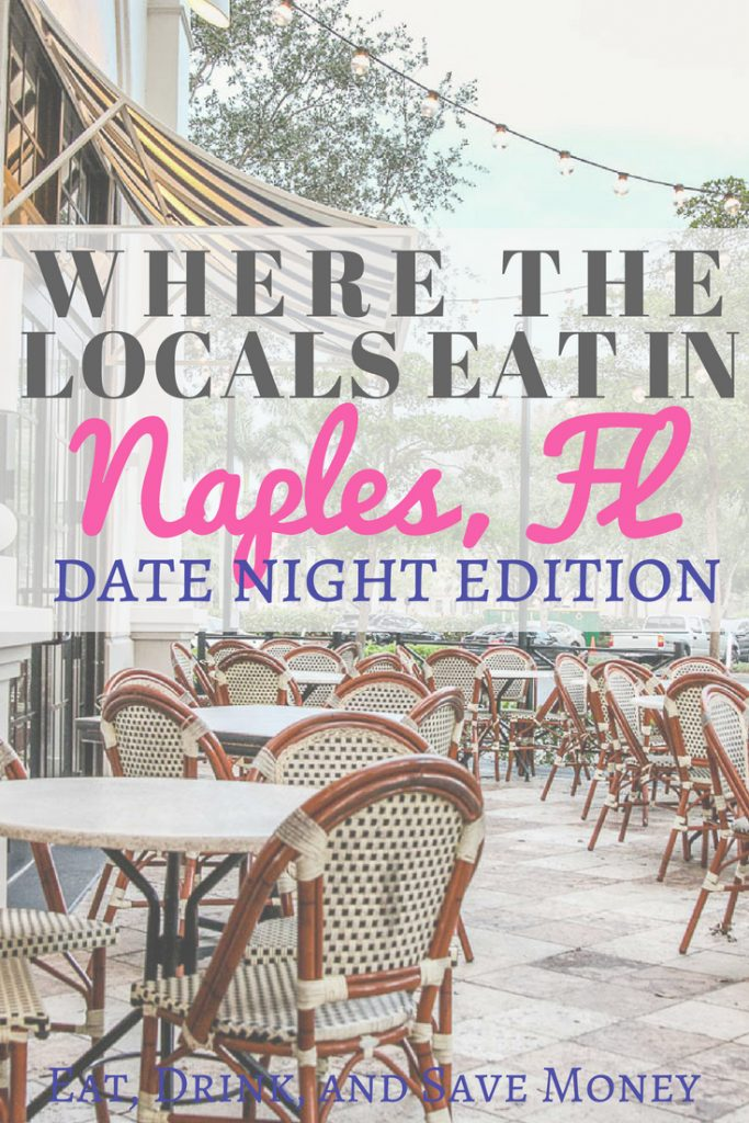 Where the locals eat in Naples, FL. Date night in Naples, FL. Florida travel. Visit Naples. Paradise coast. #NaplesFL #naples #floridatravel #datenight #paradisecoast
