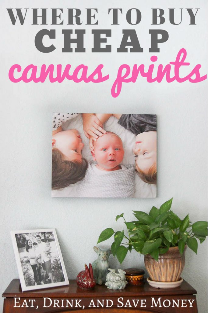 Where to buy cheap canvas prints. Inexpensive canvas art. #wallart #canvasprints #cheapcanvasprints