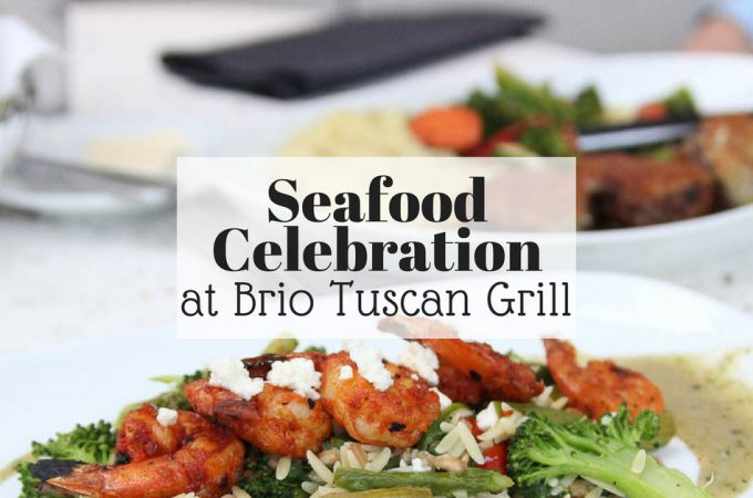 seafood celebration at Brio Tuscan Grill