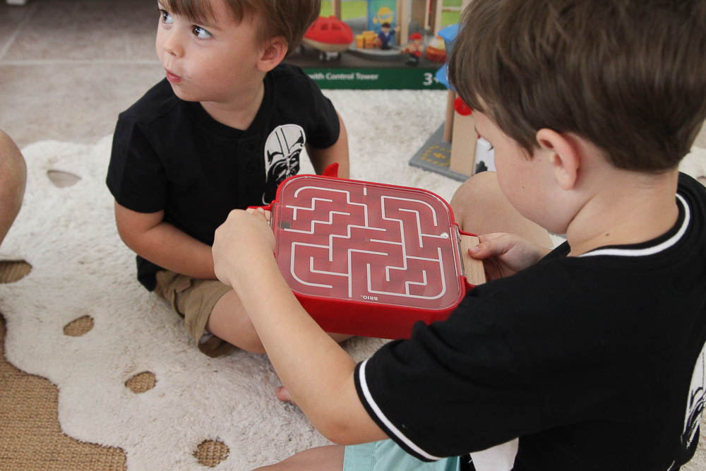 BRIO labyrinth toy review