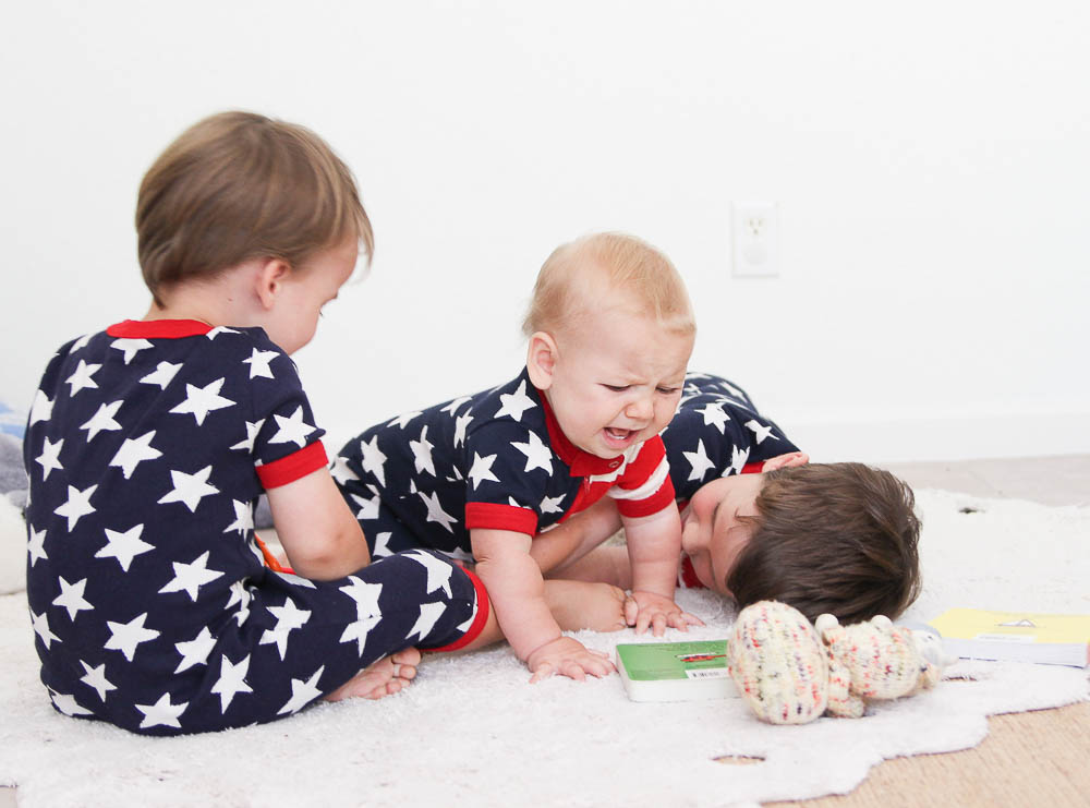 Fourth of July Pajamas Red white and blue pjs-10