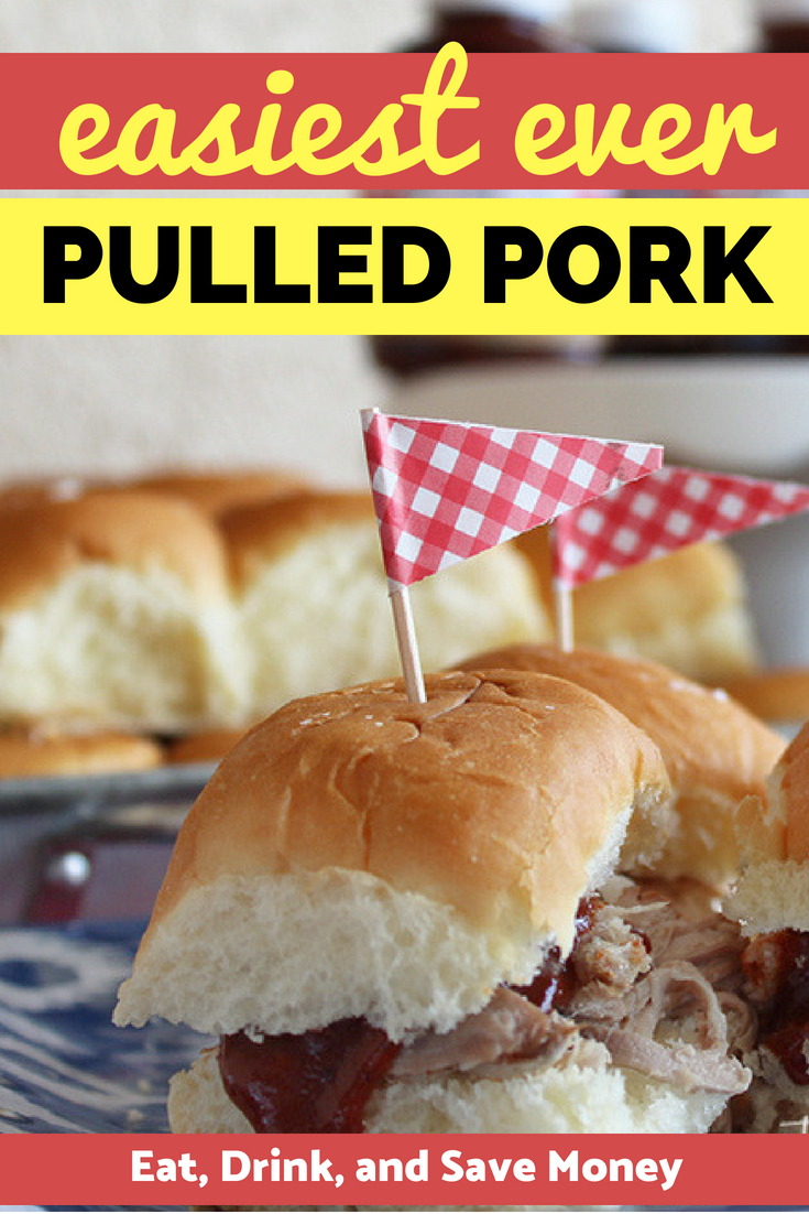 The easiest pulled pork recipe you will ever make. Try making this pulled pork in the crock pot. Slow cooker pulled pork.