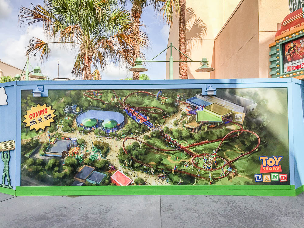 Toy story land opening soon -1