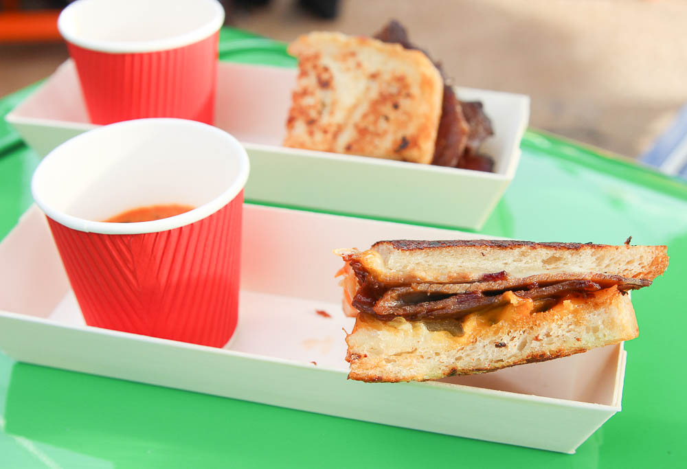 BBQ Brisket Melt from Toy Story Land Andy's Lunch Box