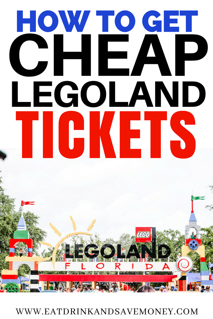 How to get cheap LEGOLAND tickets #travel #familytravel #legoland #travelonabudget #affordablefamilytravel