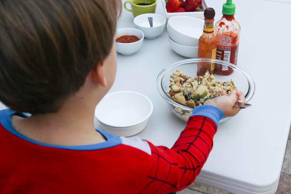 Jimmy Dean Skillets Back to School Breakfast-13