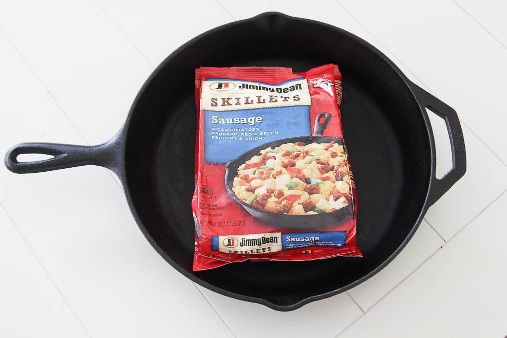 Jimmy Dean Skillets Back to School Breakfast