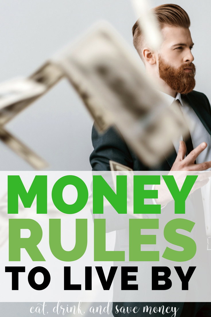 Money rules to live by #personalfinance #money #savemoney