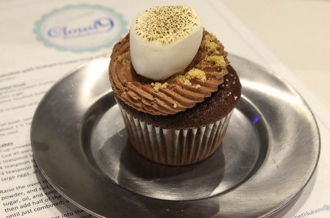 S'mores cupcakes from Cloud 9 Confections