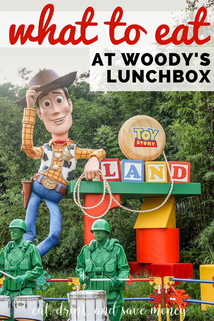 What to eat at Woody's Lunch Box in Toy Story Land at Disney's Hollywood studios
