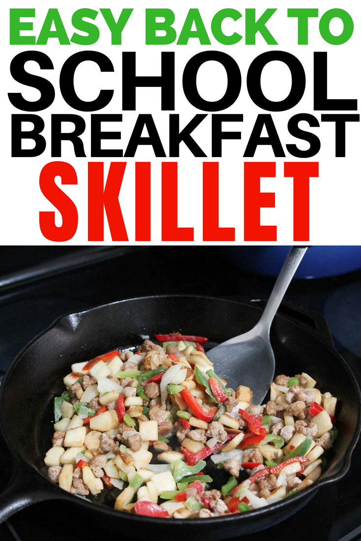 easy back to school breakfast skillet
