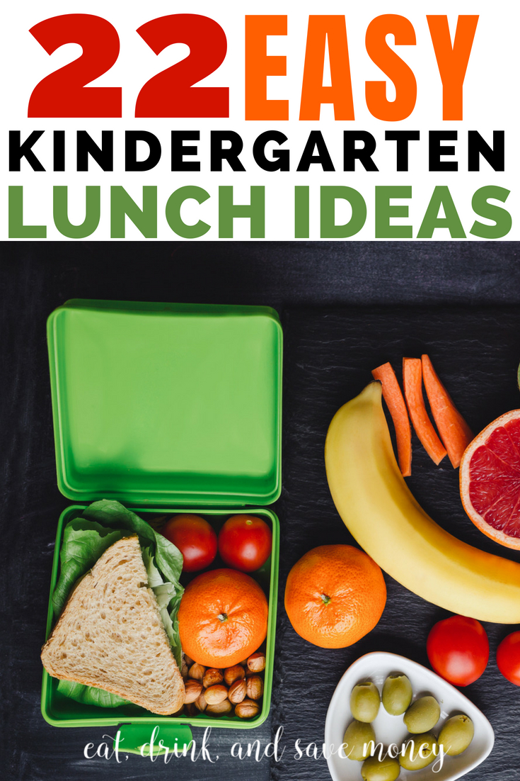 Check out these great tips to help you pack school lunches. 22 Easy Kindergarten lunch ideas.