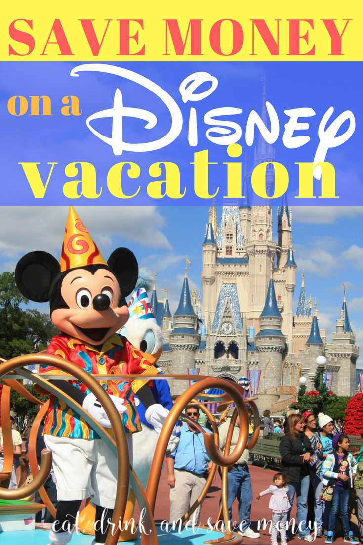 How to save money on a #Disney vacation. These tips and tricks will save you a ton of money on your Disney vacation in Orlando, FL. #familytravel