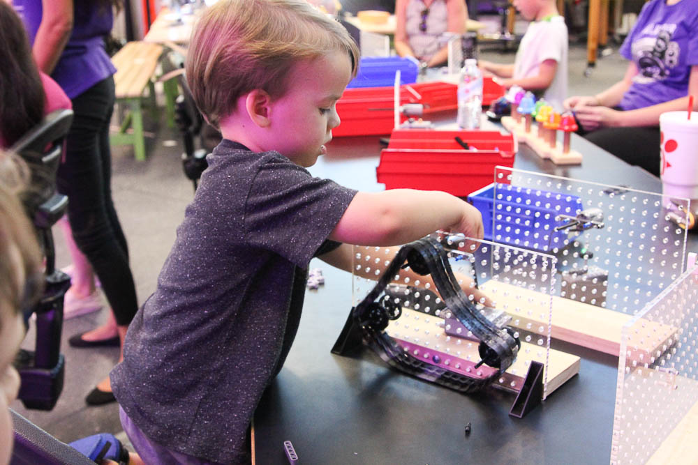 LEGO fun at MOSI with the Tampa Bay CityPASS